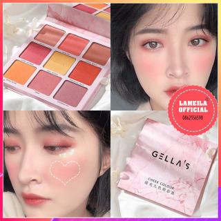 Bảng phấn mắt kèm má hồng Gellas Cheek Color P0068 thumbnail