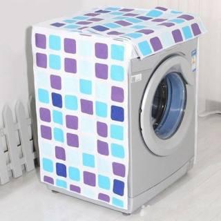 Bọc máy giặt - Áo phủ máy giặt lồng ngang/ cửa trước loại dày hoa tiết 3D đẹp BMG-106 (Cho máy giặt 7.5-9.5kg)SHOP TIỆN ÍCH 86