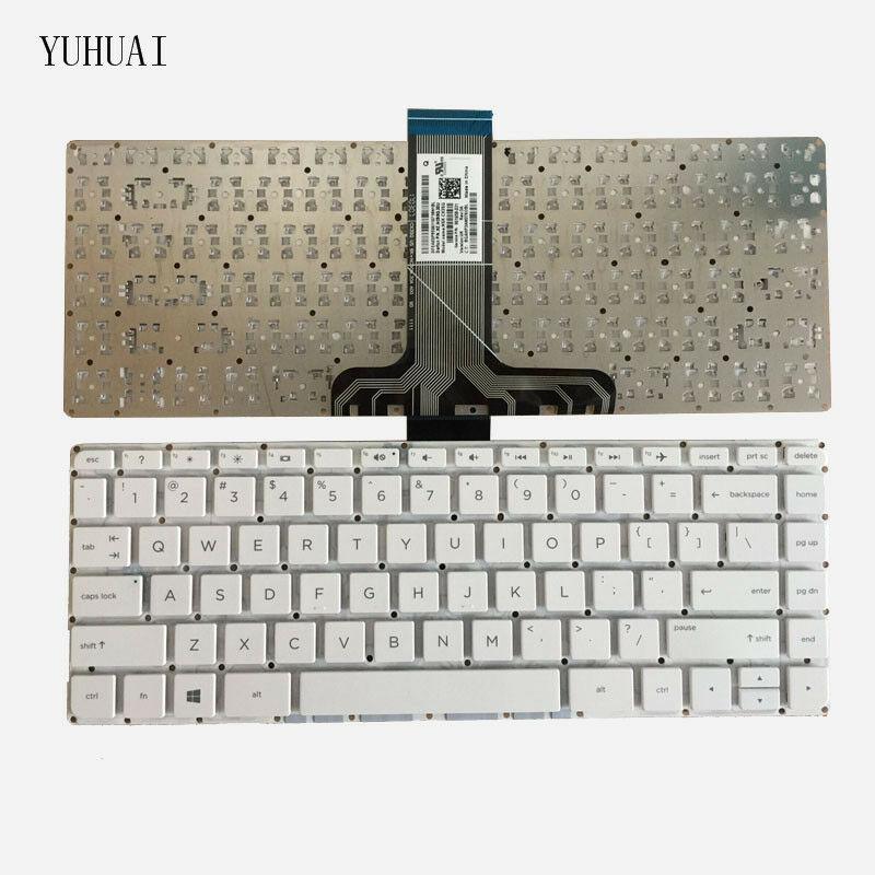 Bàn Phím Cho Laptop HP Pavilion X360 13-S Series HP Stream 14-AX Series  Chuẩn US - Hàng Mới 100% Màu Trắng - Bảo Hành Toàn Quốc