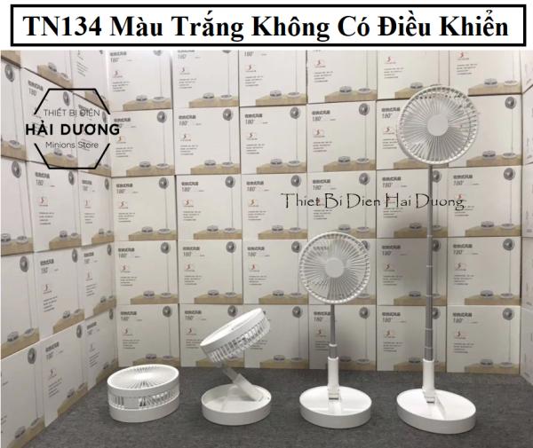 Quạt Tích điện 3 Kiểu Dáng Thông Minh Loại có Khiển - Không Khiển TN134 - Loại Phun Sương TN135