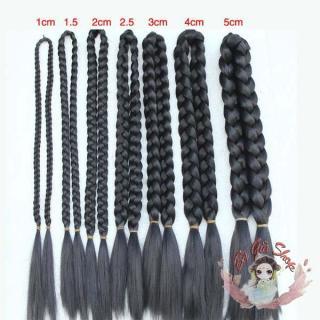 BÍm tóc giả bím tóc đôi dài loại 2cm thumbnail