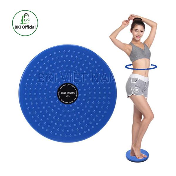 Đĩa xoay eo giảm cân , bàn xoay eo giảm mỡ bụng , dụng cụ tập cơ bụng tại nhà , gọn nhẹ , đánh tan mỡ bụng