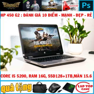 LAPTOP BÁN CHẠY HP Probook 450 G2 CORE I5 5200U - MÀN 15.6- THIÊT KẾ ĐẸP - HIỆU NĂNG CAO - BỀN BỈ thumbnail