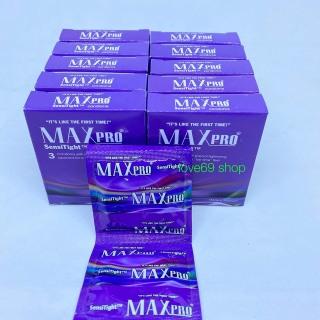 Bộ 10 Hộp Bao Cao Su Siêu Siêu Mỏng MaxPro - 30 chiếc thumbnail