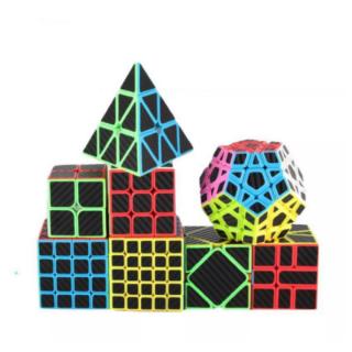 Rubik biến thể, Rubik Carbon MoYu MeiLong Pyraminx Megaminx Skewb Square-1 SQ1 Tam Giác 12 Mặt Rubik rèn luyện tư duy thumbnail