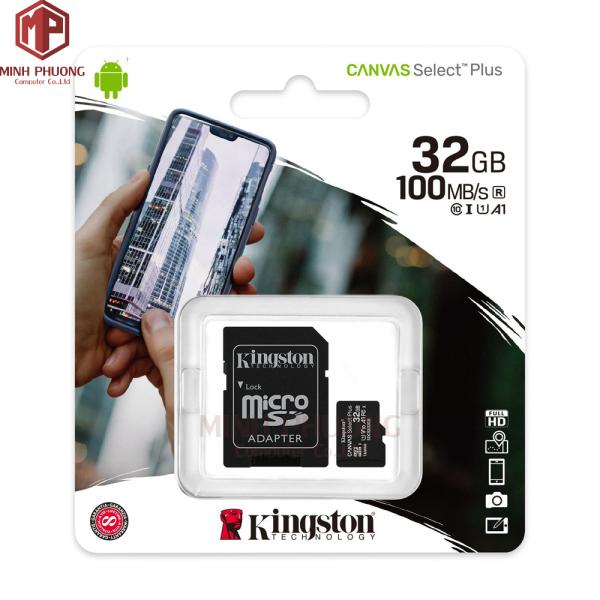 Thẻ nhớ Kingston 32GB Micro SD - Hàng chính hãng