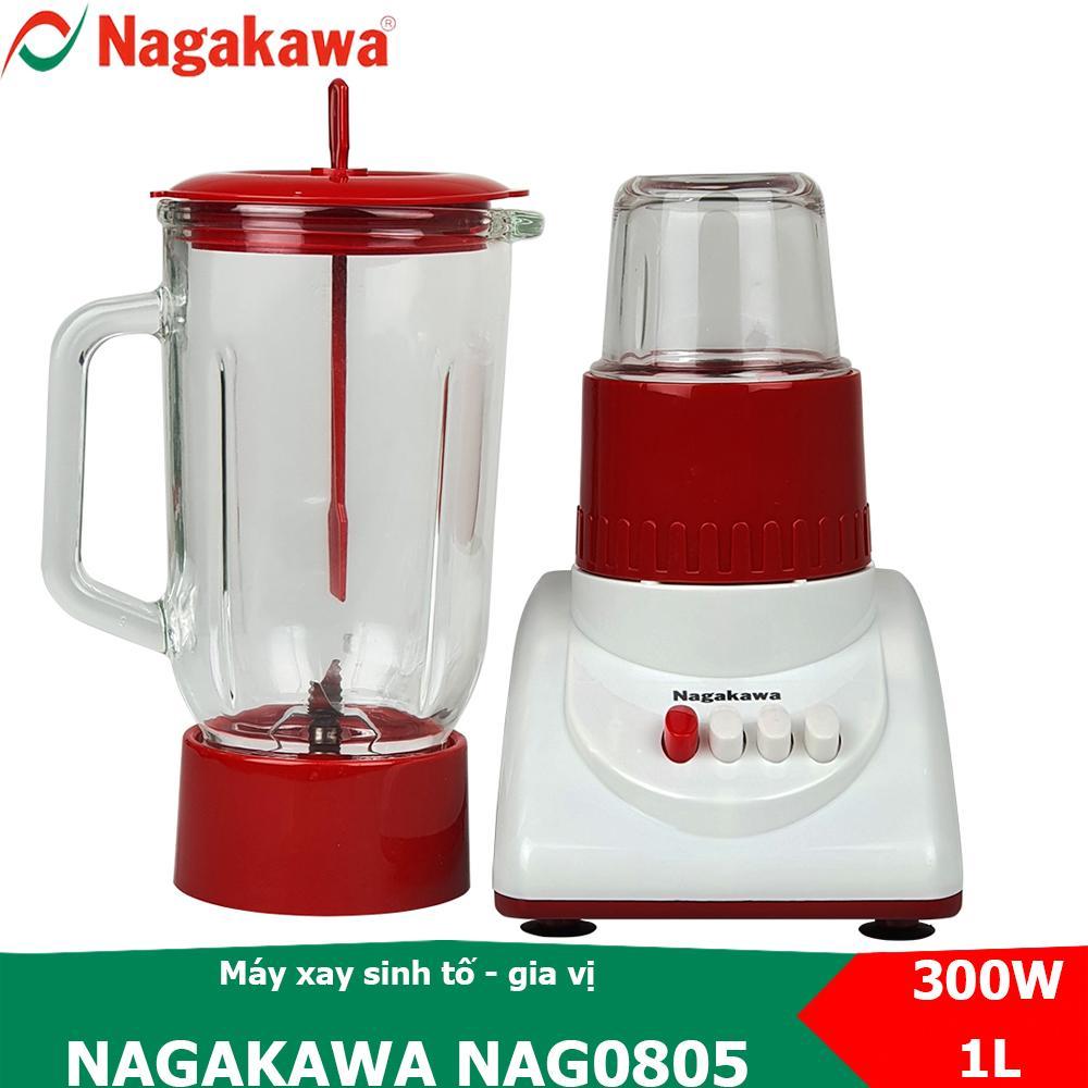 Voucher Ưu Đãi Máy Xay Sinh Tố 2 Trong 1, Công Suất 300W Nagakawa NAG0805