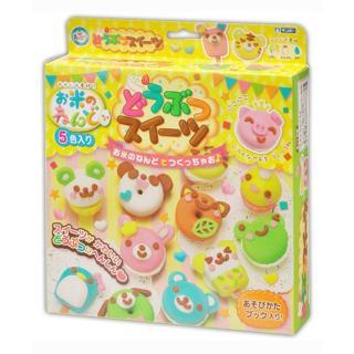[Sale] Bộ đồ chơi hộp đất nặn sáng tạo bằng bột gạo Gincho Tạo Hình Kem, Bánh Quy an toàn cho cho bé ( Mẫu mới - Nội địa Nhật - Japan ) thumbnail