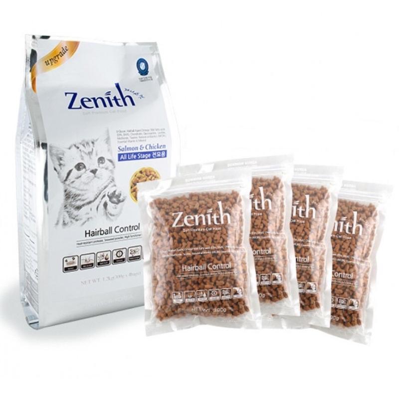 Thức ăn hạt mềm cho mèo ZENITH chống búi lông - xuất sứ: Hàn Quốc ( bao chia 300g)