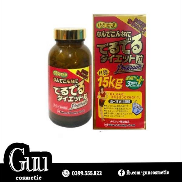Viên uống giảm 15kg Minami Naishi Diet Nhật Bản nhập khẩu