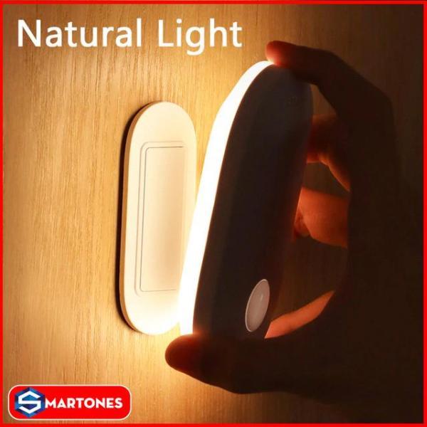 Đèn thông minh Baseus Sunshine Series tích hợp cảm biến chuyển động , cảm biến ánh sáng giúp bật tắt đèn tự động, pin 500mAh cho thời gian sử dụng lên đến 5 tháng , tiết kiệm điện năng