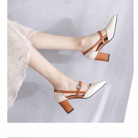 Giày dép san đan quoai hậu cao gót 5p, cam kết hàng đúng mô tả, chất lượng đảm bảo, an toàn đến sức khỏe người sử dụng, đa dạng mẫu mã giá rẻ
