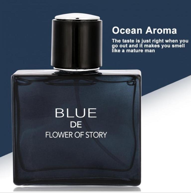 [HOT] Nước Hoa Nam Blue De Flower Of Story Mạnh Mẽ, nước hoa for men giá tốt, hương thơm quyến rũ đàn ông đích thực- Anhthu688 nhập khẩu
