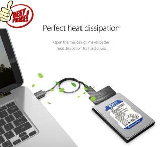 ORICO 2.5 inch Hard Drive Adapter (20UTS) + FREE Cable HDD box USB 3.0 Length 0.5m thumbnail