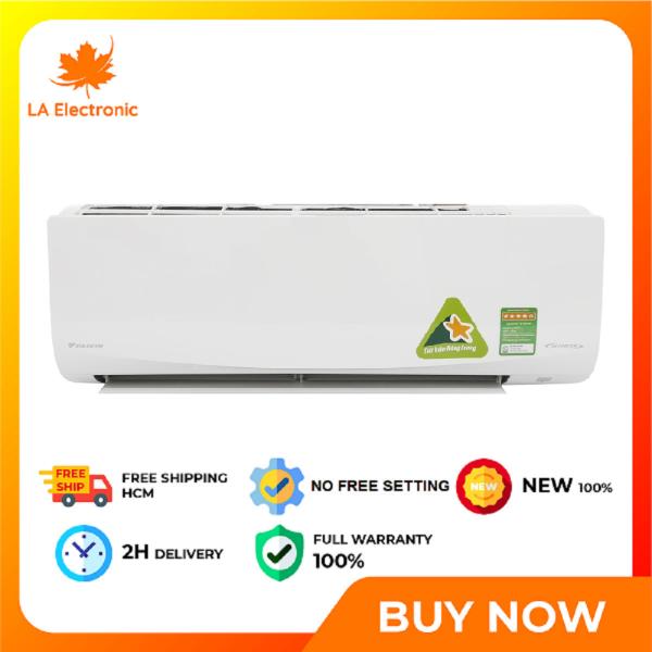 Trả Góp 0% - Máy lạnh - Daikin Inverter 1.5 HP ATKC35UAVMV - Miễn phí vận chuyển HCM và Công lắp đặt
