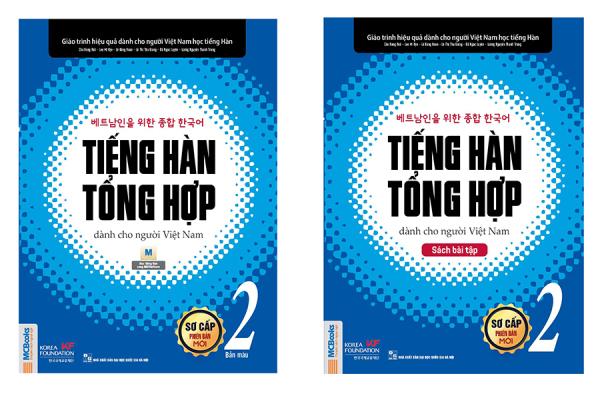 Mua Sách -Trọn bộ Giáo Trình Tiếng Hàn Tổng Hợp Tập 2 Phiên bản màu Mcbooks