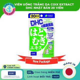 DHC Nhật Bản-Viên uống trắng da Coix Extract DHC 20 viên [Làm trắng da, bổ sung và dưỡng ẩm cho da Cung cấp độ ẩm cho làn da mềm mại] (được bán bởi Siêu Thị Hàng Ngoại thumbnail