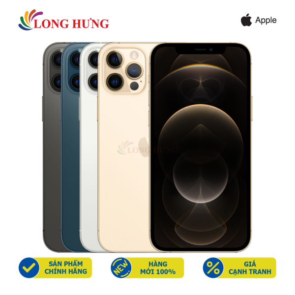 Điện thoại Apple iPhone 12 Pro 256GB (VN/A) - Hàng chính hãng - Màn hình 6.1inch Super Retina XDR, bộ 3 Camera sau, Pin 2815mAh hỗ trợ sạc nhanh