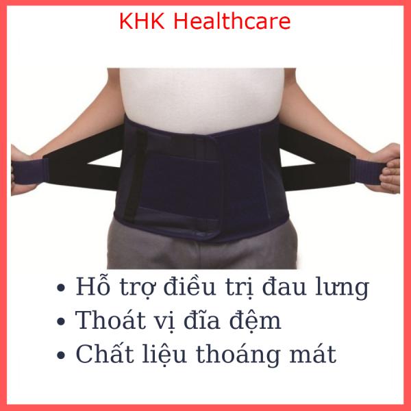 Đai lưng cột sống Linh Hiếu đủ size cho người thoát vị đĩa đệm, đau lưng - KHK Healthcare