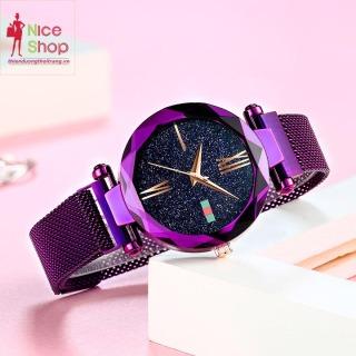 Đồng hồ dây thép nữ nary phong cách Hàn Quốc - DH0140 thumbnail