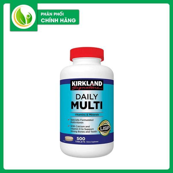 Viên Uống Bổ Sung Vitamin Tổng Hợp Daily Multi Kirkland 500 Viên của Mỹ cao cấp