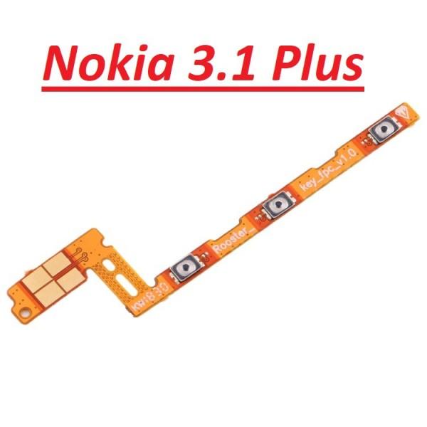 Chính Hãng Dây Nút Nguồn Âm Lượng Nokia 3.1 Plus Chính Hãng Giá Rẻ