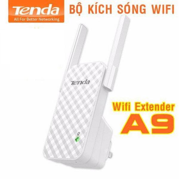 Thiết bị kích sóng wifi, Cục hút wifi, cách cài kích wifi, Bộ kích sóng wifi Tenda A9 cực mạnh, thu và phát lại với tốc độ truyền cực nhanh, Bảo hành 1 đổi 1