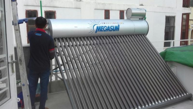 Bảng giá Megasun - Máy nước nóng năng lượng mặt trời KAE 300L