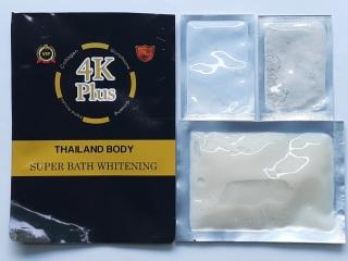 [Tắm trắng 4K] Kem Sữa tắm trắng 4K Plus Thái Lan thumbnail