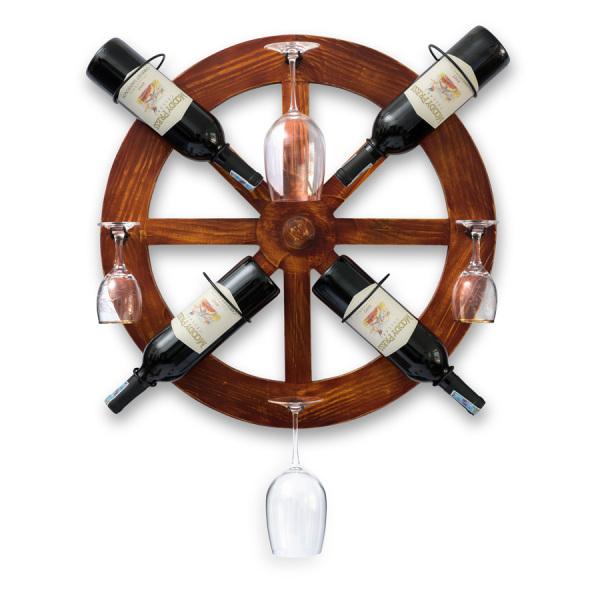 Kệ Rượu Treo Tường KR14