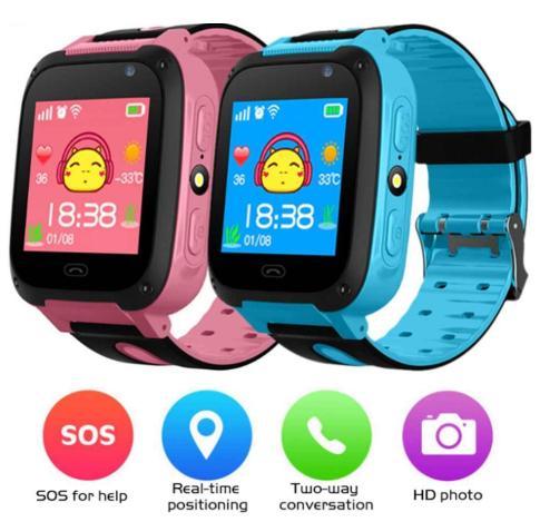 Đồng hồ định vị bảo vệ trẻ em A20 Nghe gọi , Nhắn tin thoại hai chiều bán chạy