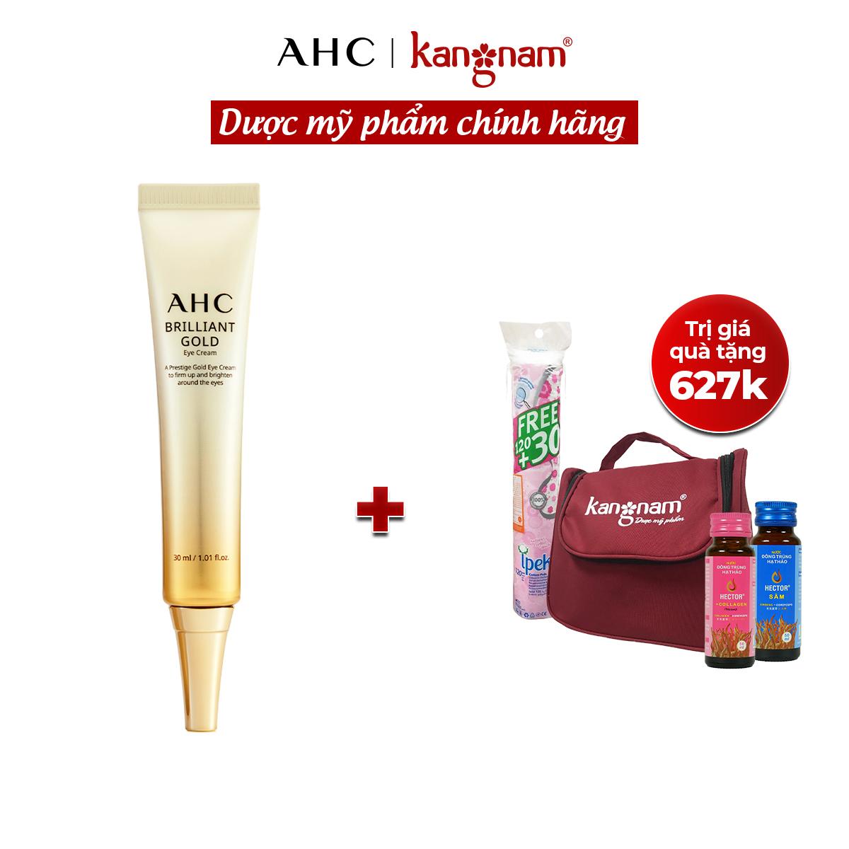 Kem mắt tinh chất vàng AHC Brilliant Gold Eye Cream 30ml