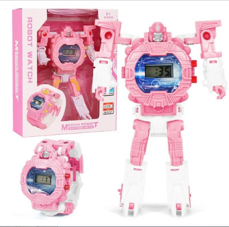 Nơi bán Đồng Hồ Điện Tử Dành Cho Trẻ Em Biến Hình Robot Siêu Nhân 2 Trong 1