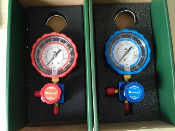 [Có sẵn] Đồng hồ nạp gas đơn Hong Sen 468 Áp cao