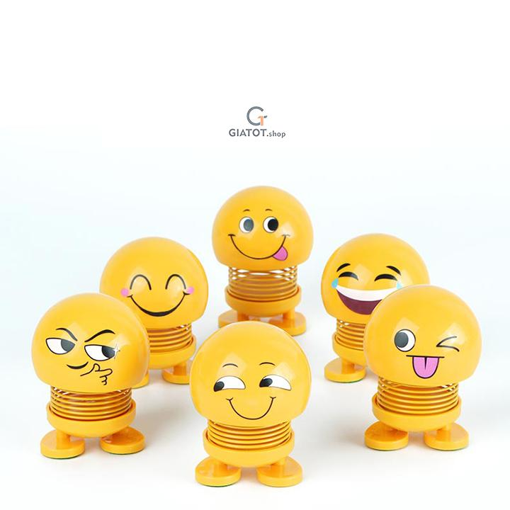 Thú Nhún Emoji - Emoji Lò Xo - Emoji Cười - Thú Nhún Lò Xo - Thú Nhún - Thú Nhồi Bông - Thú Cưng - Emoji Lò Xo Ngộ Nghĩnh - Đồ Chơi Tiêu Khiển - Trang Trí Xe Hơi, Bàn Làm Việc, Học Tập, Đồ chơi trẻ em, đồ chơi siêu nhân - đồ chơi giải trí