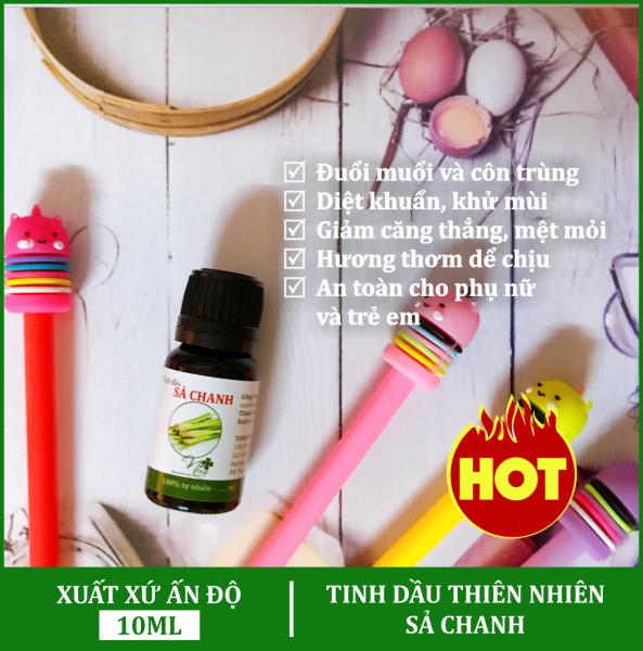 Tinh Dầu Sả Chanh 10ml, Xông Phòng, Đuổi muổi, côn trùng, Diệt khuẩn, khử mùi tốt nhất
