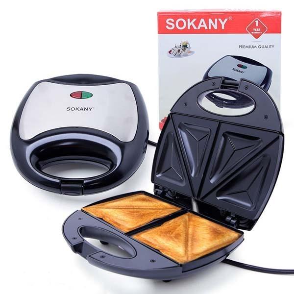 Máy làm bánh Hotdog, Máy nướng bánh mỳ Sokany KJ-102 - KJ-102