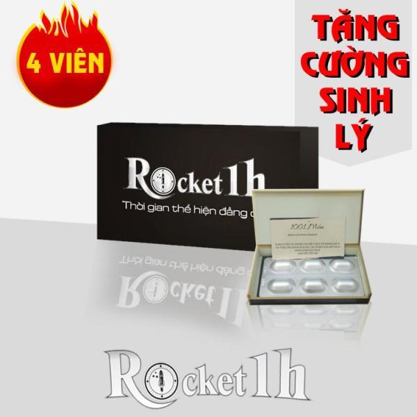 4 viên rocket 1h - tăng cường sinh lực cho phái mạnh (Có che tên sản phẩm)