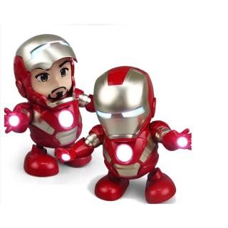 Đồ Chơi Robot Iron Man Nhảy Múa Làm Quà Tặng Cho Con thumbnail