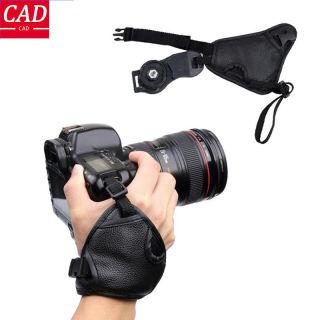 CAD, Dây Đeo Cổ Tay Máy Ảnh Bằng Da PU Mềm Cho Nikon D7100 D5500 D5300 D3300 D610 Dành Cho Máy Ảnh Canon SONY SLR / DSLR