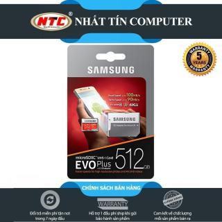 Thẻ nhớ MicroSDXC Samsung Evo Plus 512GB U3 4K 100MB s - box Anh kèm Adapter (Đỏ) - Nhất Tín Computer thumbnail