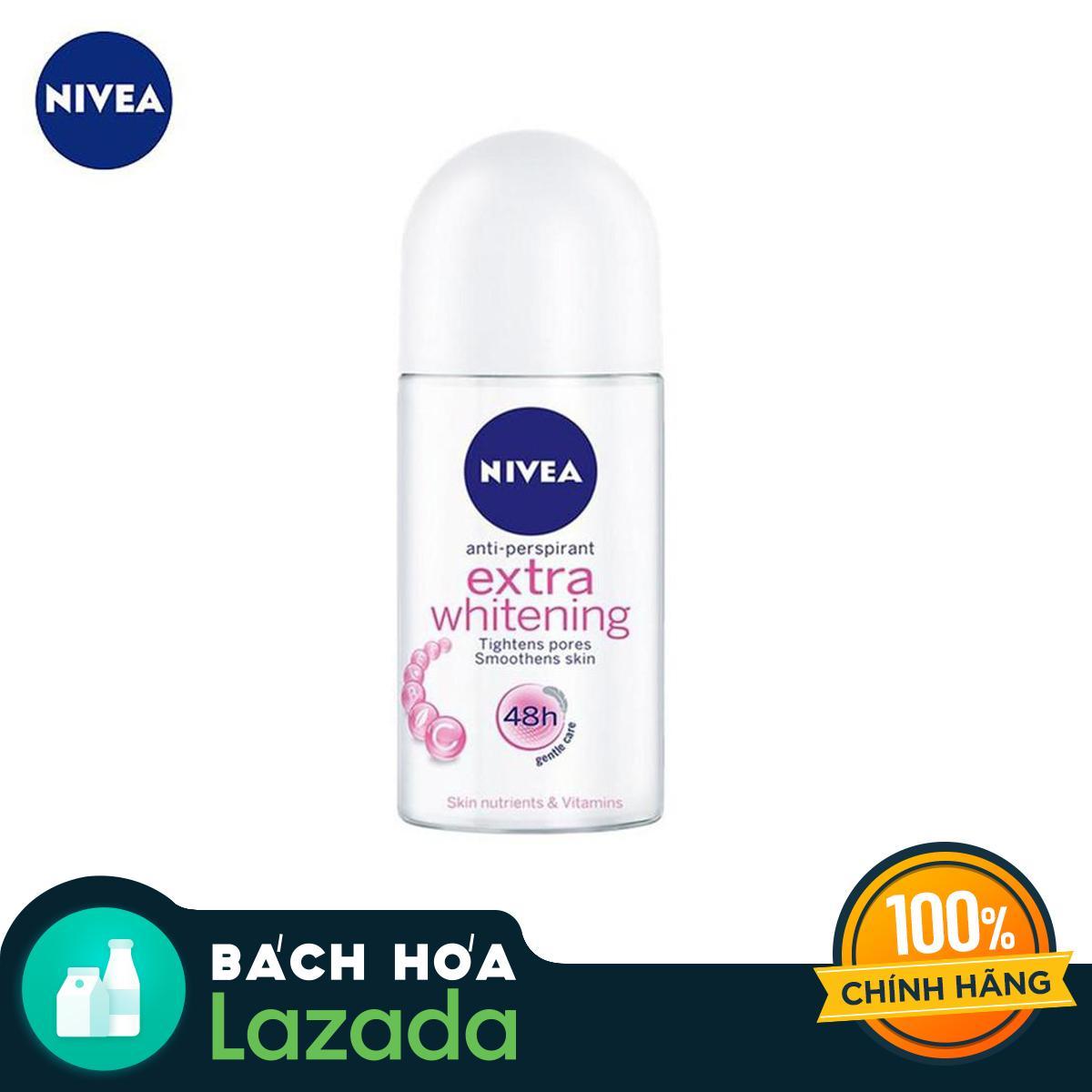 Giá Tiết Kiệm Để Sở Hữu Ngay Lăn Ngăn Mùi NIVEA Extra Whitening Roll-on 50ml
