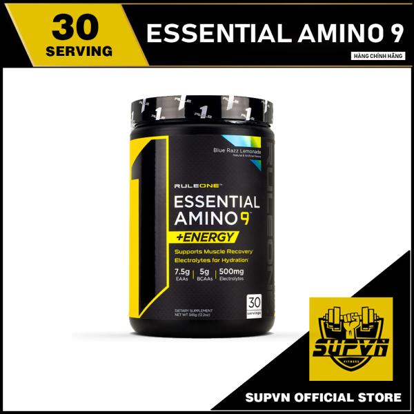 Rule 1 Essential Amino 9 Energy 30 Serving - EAA Thực Phẩm Bổ Sung Giúp Tăng Cơ 30 lần dùng