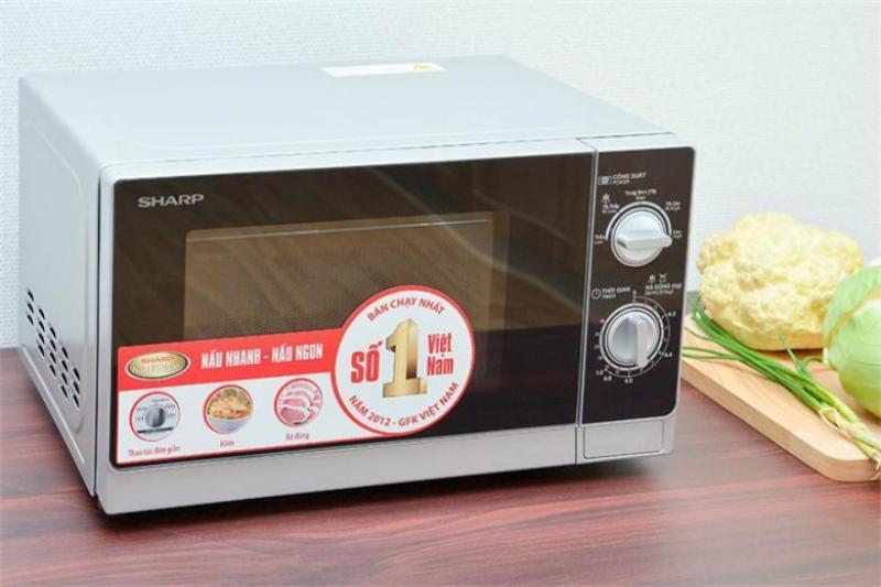 Lò vi sóng Sharp R-205VN(S), 20L, hàng chính hãng