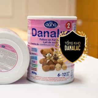 Sữa DANALAC FORMULAR dành cho trẻ từ 6 - 12 tháng 800g DF02800 thumbnail