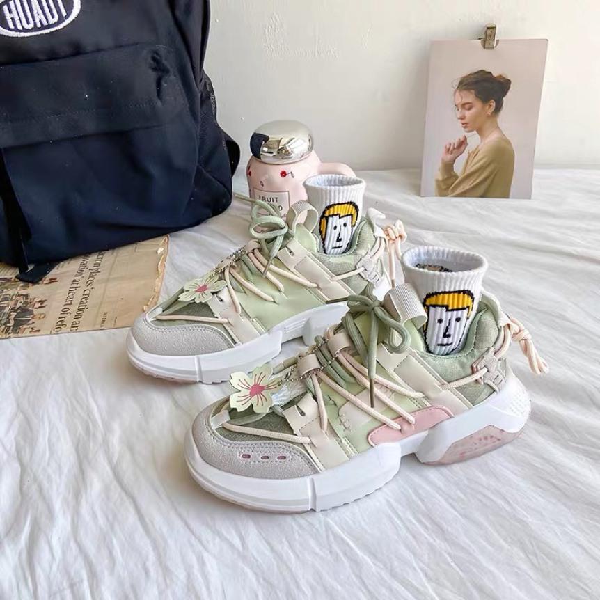 giày thể thao nữ hoa anh đào giá rẻ