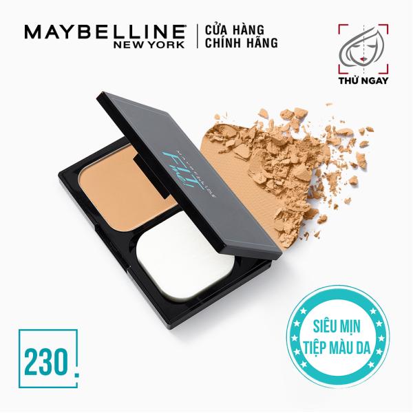 Phấn Nền Kiềm Dầu Chống Nắng Tiệp Mọi Tông Da SPF 32 PA+++ Fit Me Skin-Fit Powder Foundation Maybelline New York 9g giá rẻ