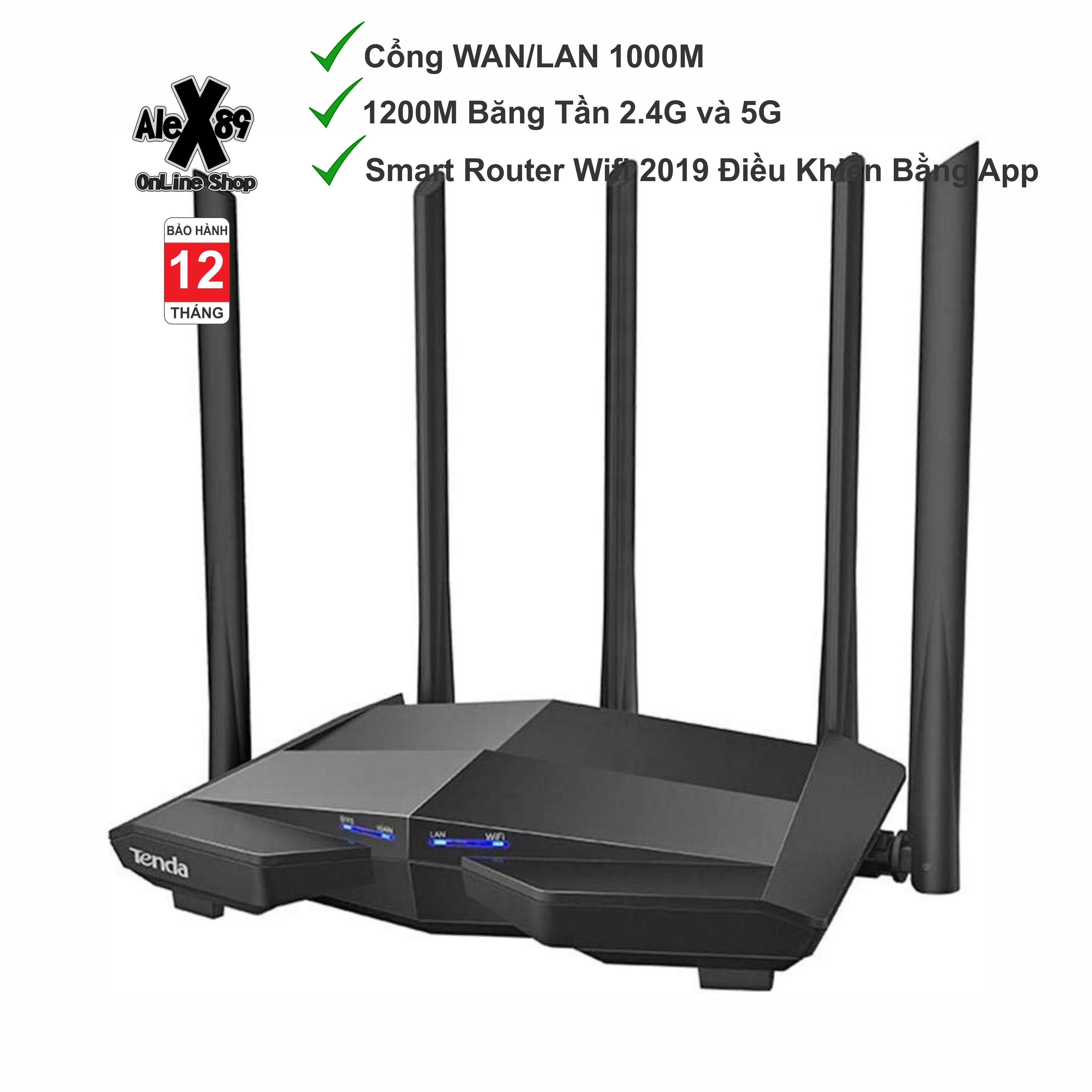 Thiết Bị Phát Wifi Tenda AC11 1200M Gaming - Bảo Hành 12 Tháng Với Giá Sốc