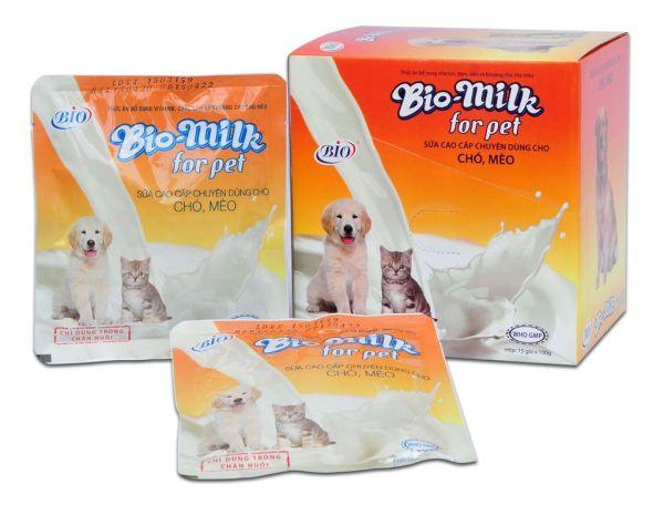 Sữa Dinh Dưỡng Bio Milk Dành Cho Chó Mèo Túi 100g