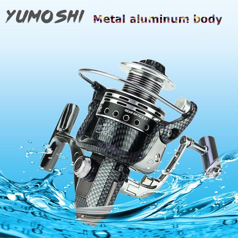 [XẢ KHO 50% ] Máy Câu Cá Yumoshi CL 12 Ball Bearing - 3000, 4000, 5000, 6000, 7000 Giá Quá Tốt Phải Mua Ngay